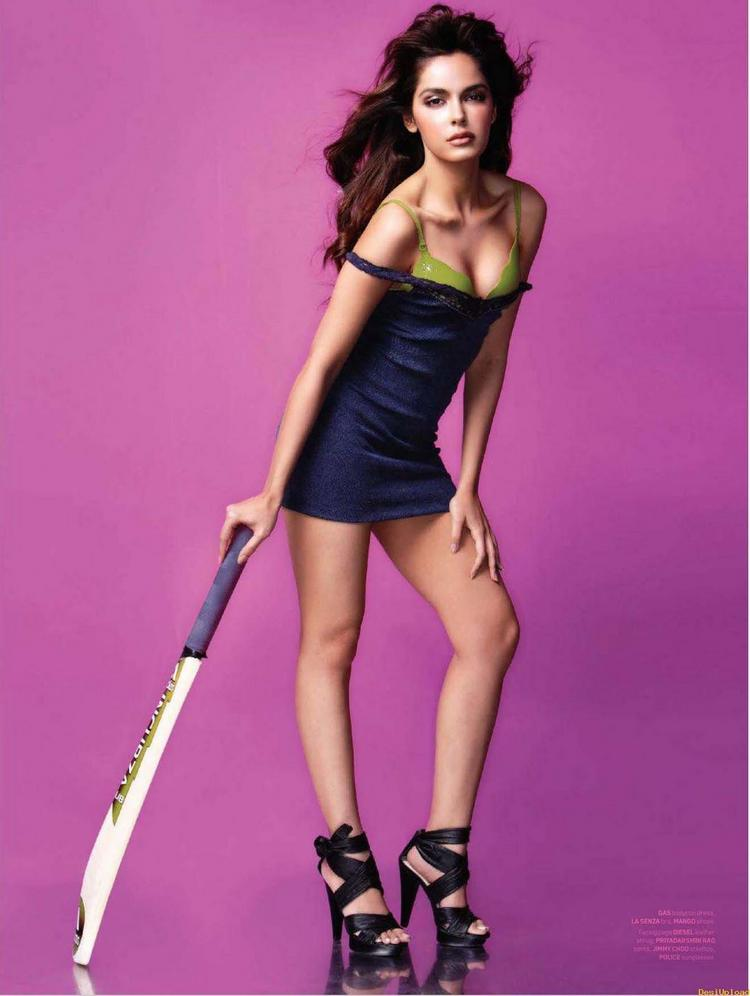 Shazahn Padamsee Hot Photoshoot For Maxim Magazine