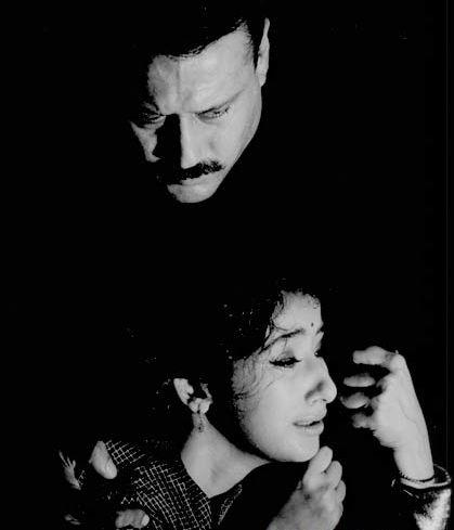 Manisha Koirala and Jackie Shroff in Grahan