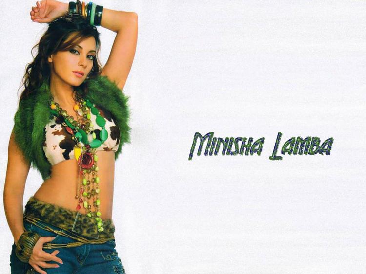Minissha Lamba hot and sexy wallpaper