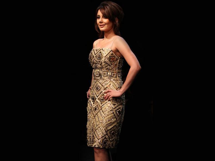 Minissha Lamba in sexy tight dress