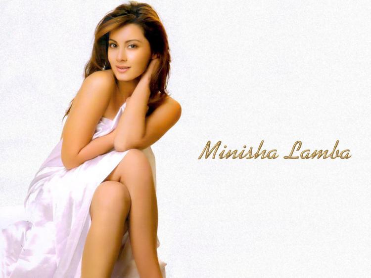 Minissha Lamba latest hot wallpaper