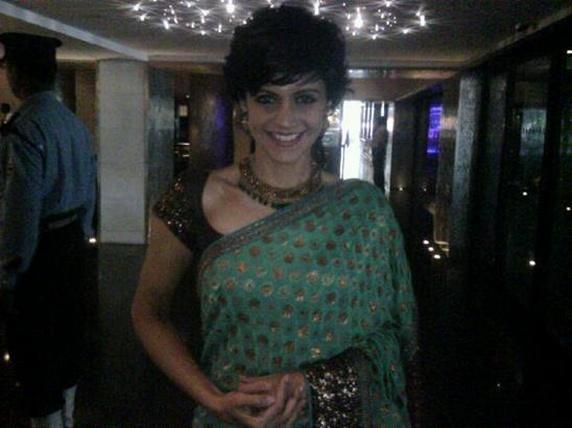 Mandira Bedi in amazing saree pics