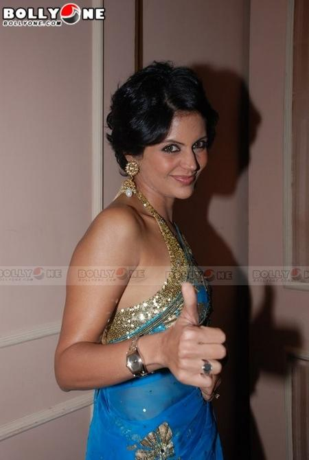 Mandira Bedi in gorgeous saree