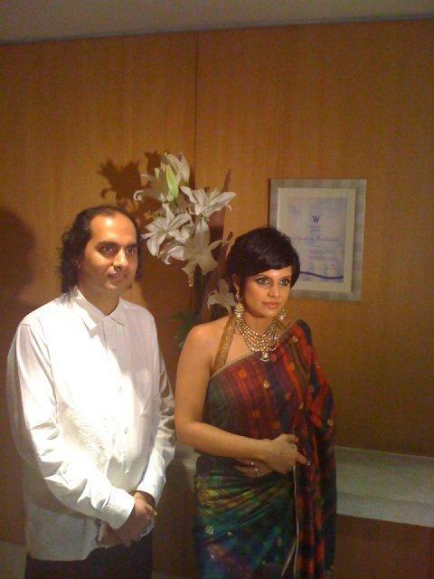 Mandira Bedi at satya paul