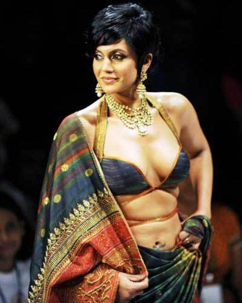 Mandira Bedi at Kolkata Fashion Week II