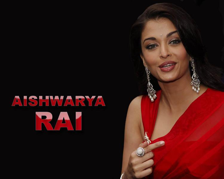 Aishwarya Rai Bachchan red hot wallpaper
