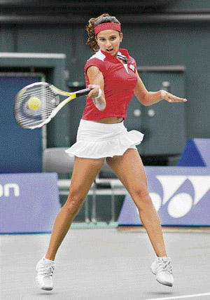 Sania mirza mini dress hot still