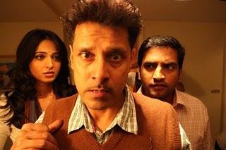 Chiyan,Vikram and anushka deiva thirumagan comedy stills