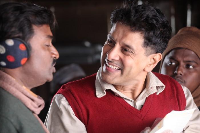 vikram Deiva Thirumagal movie stills