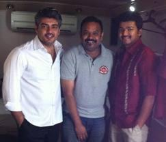 Ajith,Vijay and mankatha shooting spot pictures