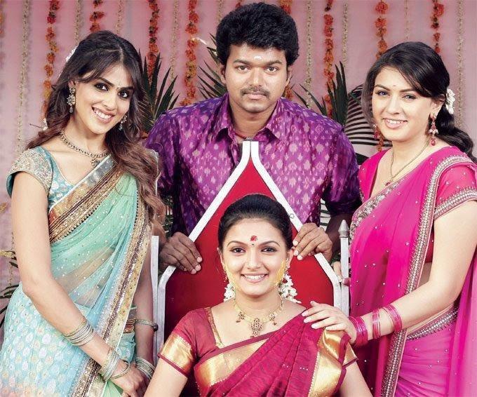 Velayutham vijay,genelia,hansika motwani and saranya stills
