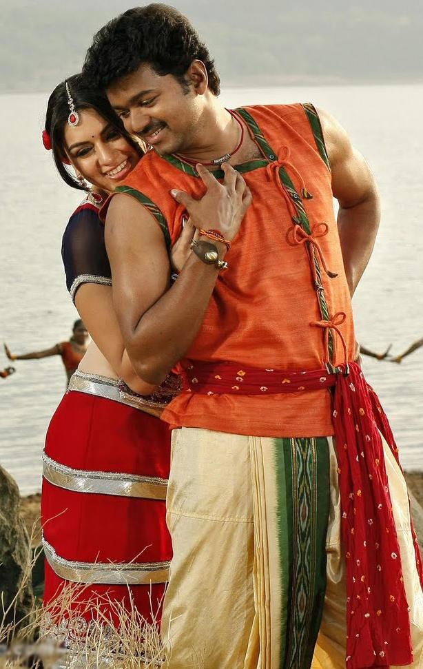 velayutham vijay and hansika motwani romance stills