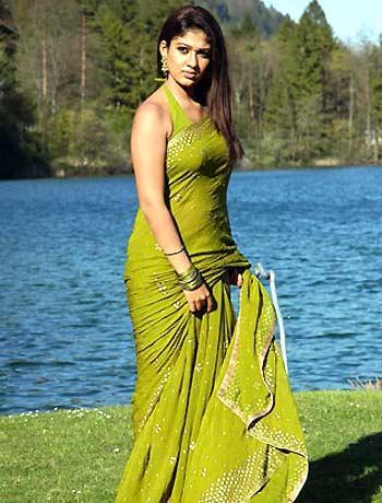 Nayanthara looks beautiful in saree