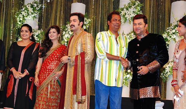 Prithviraj Sukumaran reception stills