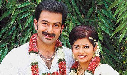 Prithviraj wedds Supriya Menon