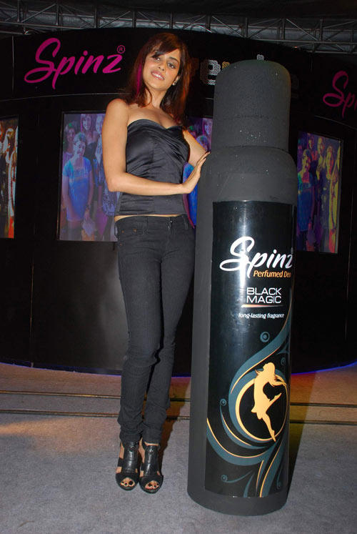 Genelia at Spinz Perfume Launch