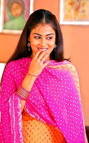 Genelia D'Souza cute still in salwar suit