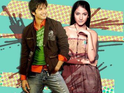 Anushka Sharma and Shahid Kapoor  wallpaper