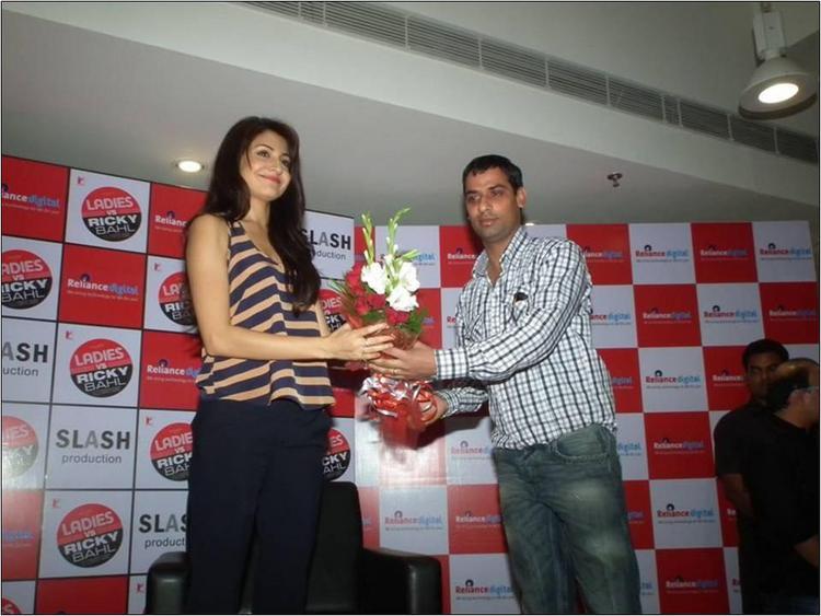 Anushka's felicitation
