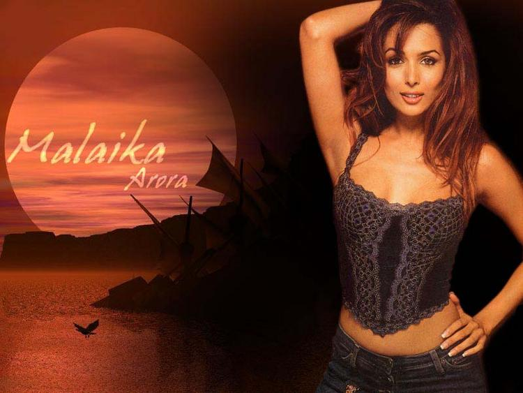 Malaika Arora in sexy tops wallpaper