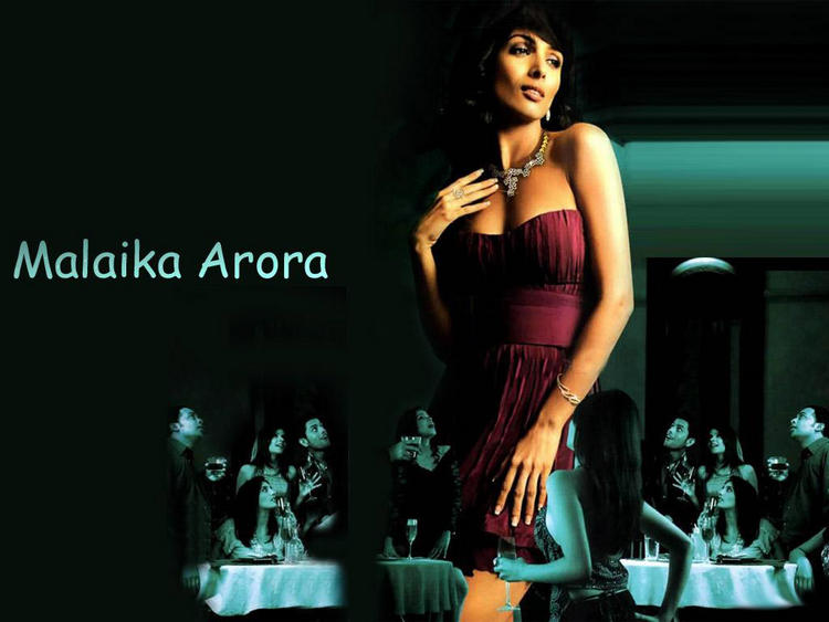Malaika Arora hot boob show