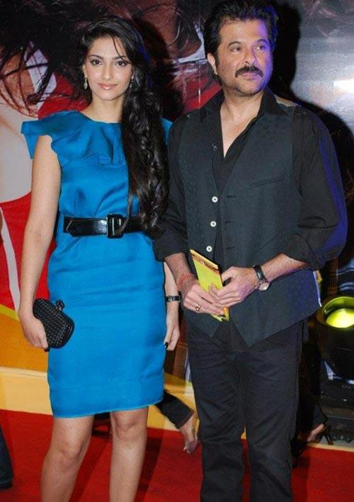 Anil Kapoor with daughter Sonam