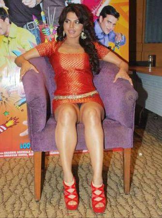 Rakhi Sawant Exposing Panty