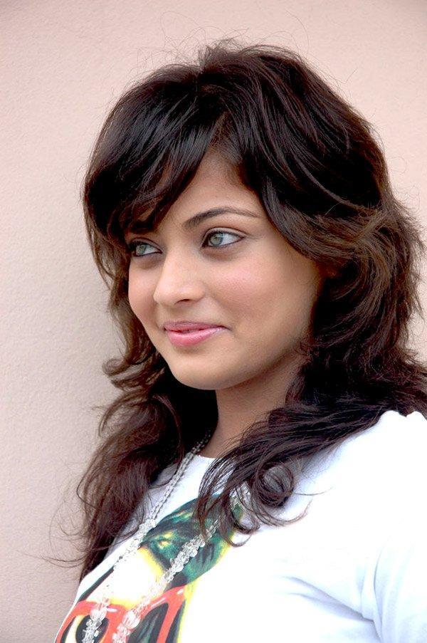 Sneha Ullal with sweet look