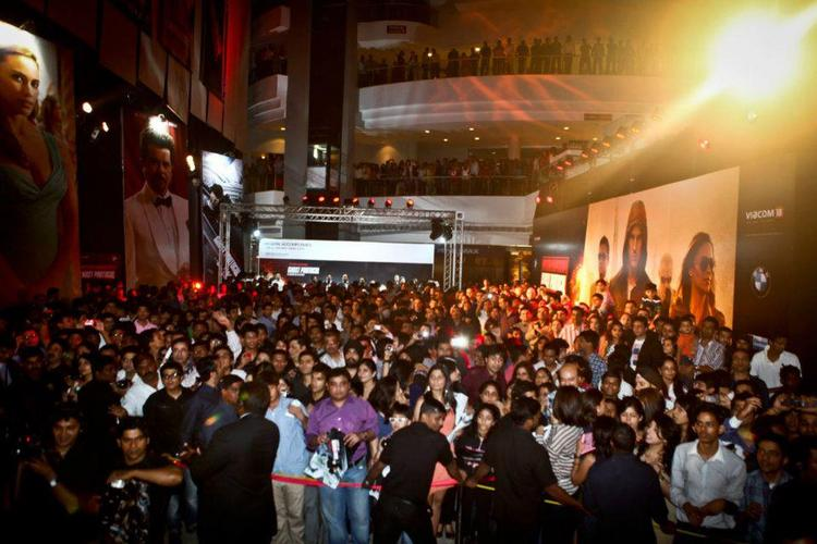 The crowd at MI4 promotion party