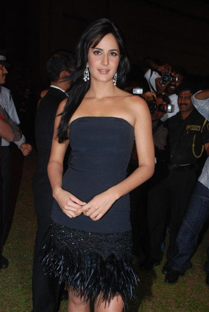 Hot katrina kaif latest with black color dress stills