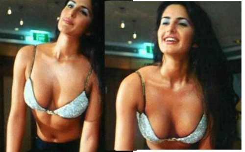 sexy katrina kaif  hot boob show