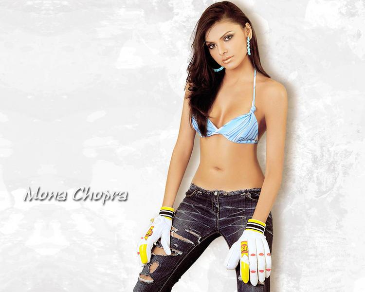 Mona Chopra in bikini sexy wallpaper