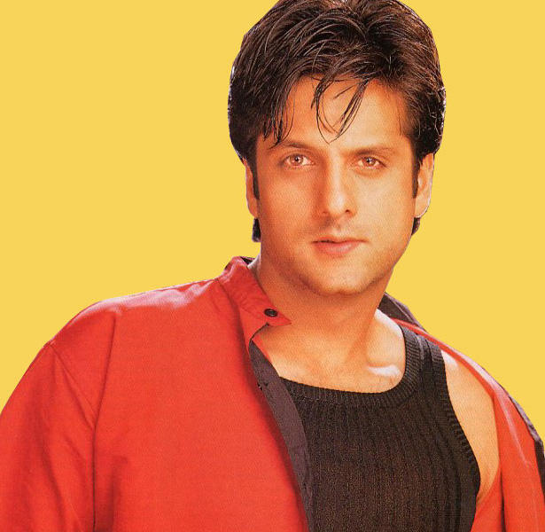 Fardeen Khan sexy look in red dress