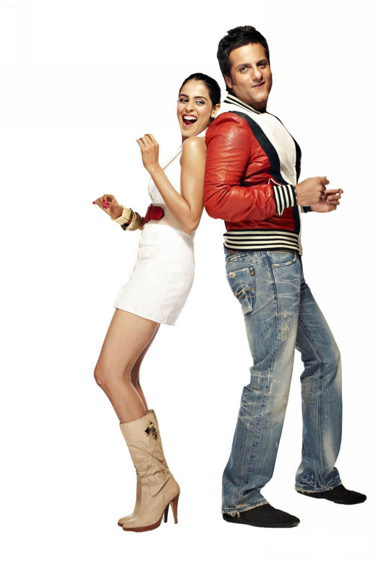 Fardeen and Genelia cute hot images