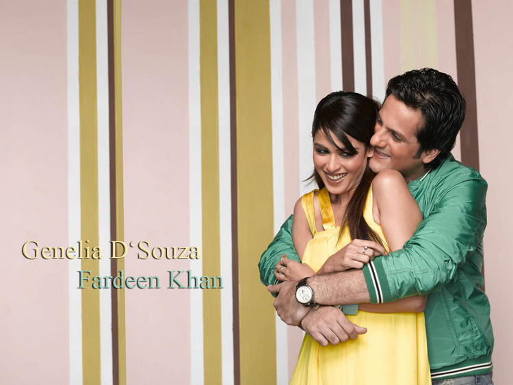 Fardeen and Genelia latest picture