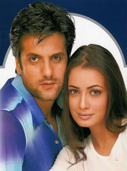 Fardeen and Diya romantic look