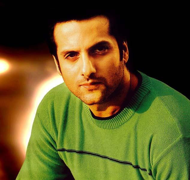 Fardeen Khan with sexy smile look