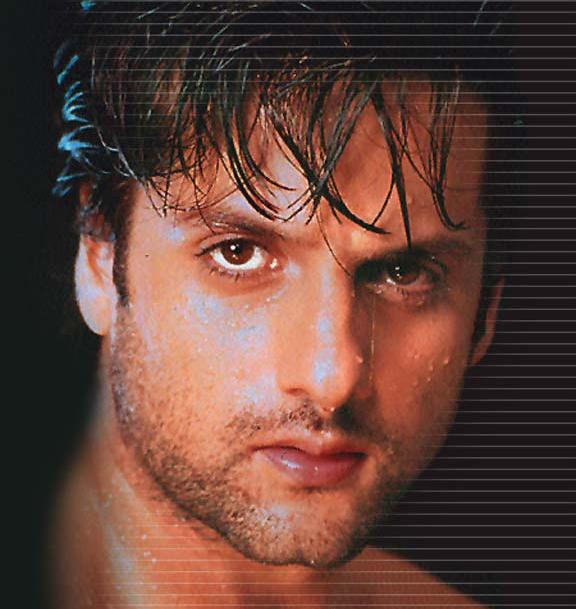 Fardeen Khan glazing eyes look