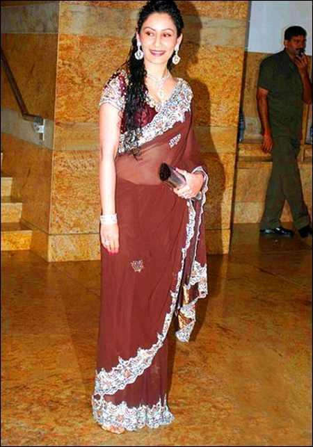 Manyata Dutt amazing saree pics
