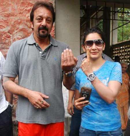 Manyata Dutt and Sanjay Dutt  latest stills