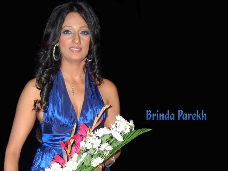 Brinda Parekh Hot Pics with flowers