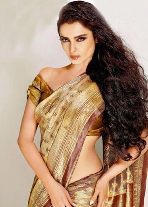 Rekha sexy pics in saree