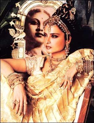 Rekha latest hot stills