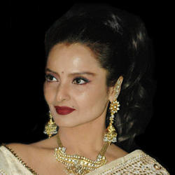 Rekha looks hot and beautiful