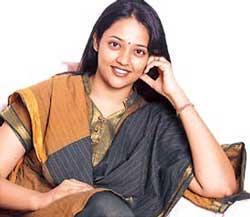 Ranjitha in traditional saree