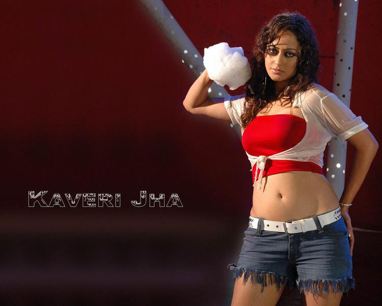 Kaveri Jha red hot pics