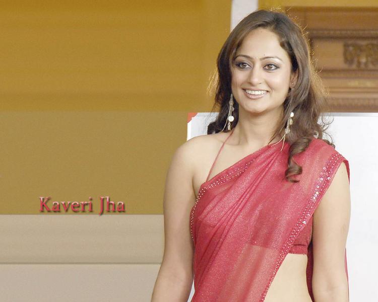 Kaveri Jha  looks beautiful saree