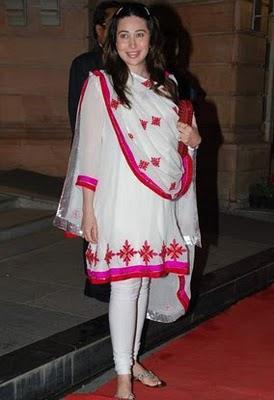 Karishma Kapoor at Dr PK Agarwals daughter Wedding