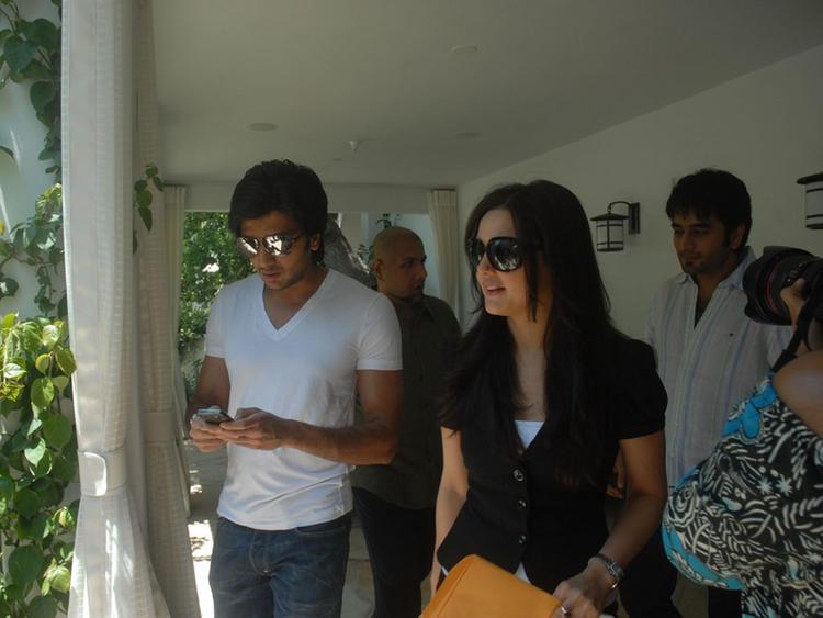 Ritesh Deshmukh and Preity Zinta photo