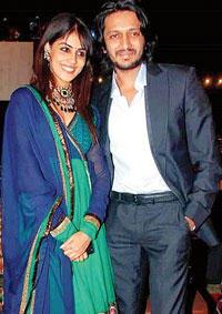 Ritesh Deshmukh and Genelia poses for photo shoot